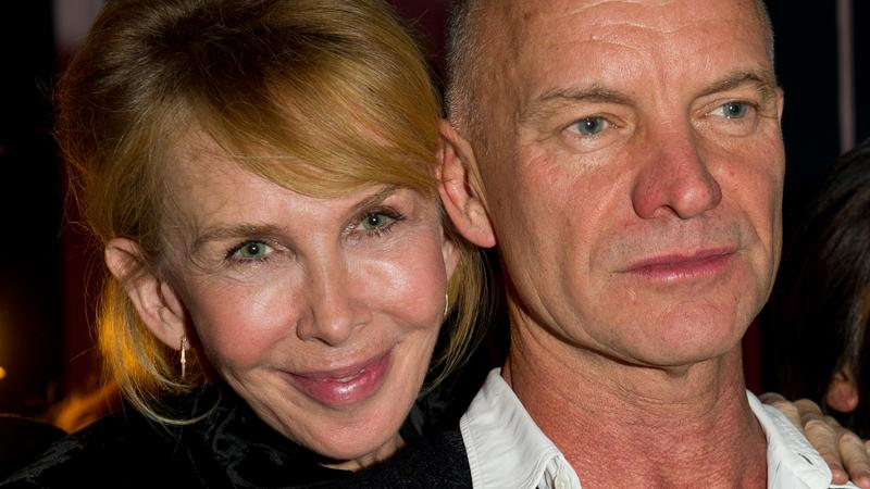 Trudie Styler i Sting (fot. Getty Images)