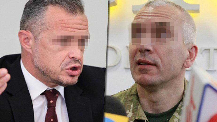 """Były minister transportu Sławomir N. oraz były dowódca """"GROM"""" Dariusz Z."""