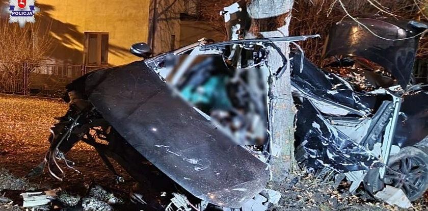 Potworna tragedia w Lublinie. Zginęli dwaj młodzi mężczyźni. Zdjęcia przerażają
