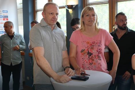 Dragan Đilas i Ana Joković
