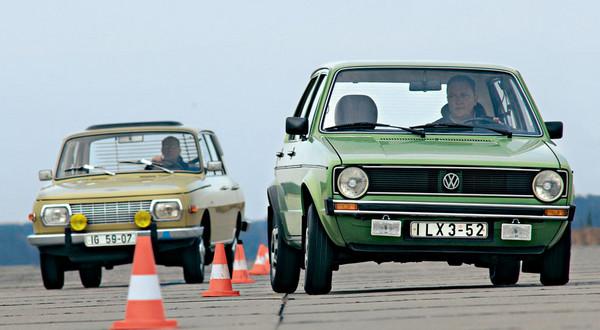Volkswagen Golf I kontra Wartburg 353: duet niemiecko-niemiecki