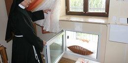 Mały Franio podrzucony zakonnicom w Rzeszowie
