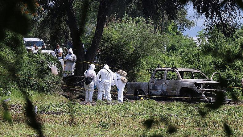 Zabójstwo 10 osób w Meksyku