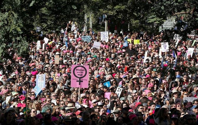 Na hiljade žena čulo je govor Natali Portman. I ovogodišnji Ženski marš bio je vrlo posećen