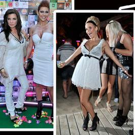 Gwiazdy na imprezie MTV