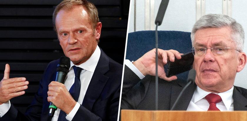 Karczewski się wygadał. Wyjawił, dlaczego rząd nie testował Polaków wracających z Wysp. Tusk nie wytrzymał