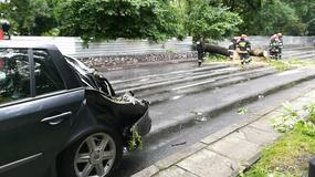 Nawałnica zniszczyła twoje auto? Zobacz jak zdobyć odszkodowanie