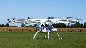 Volocopter testuje pasażerskiego drona, która ma się stać latającą taksówką