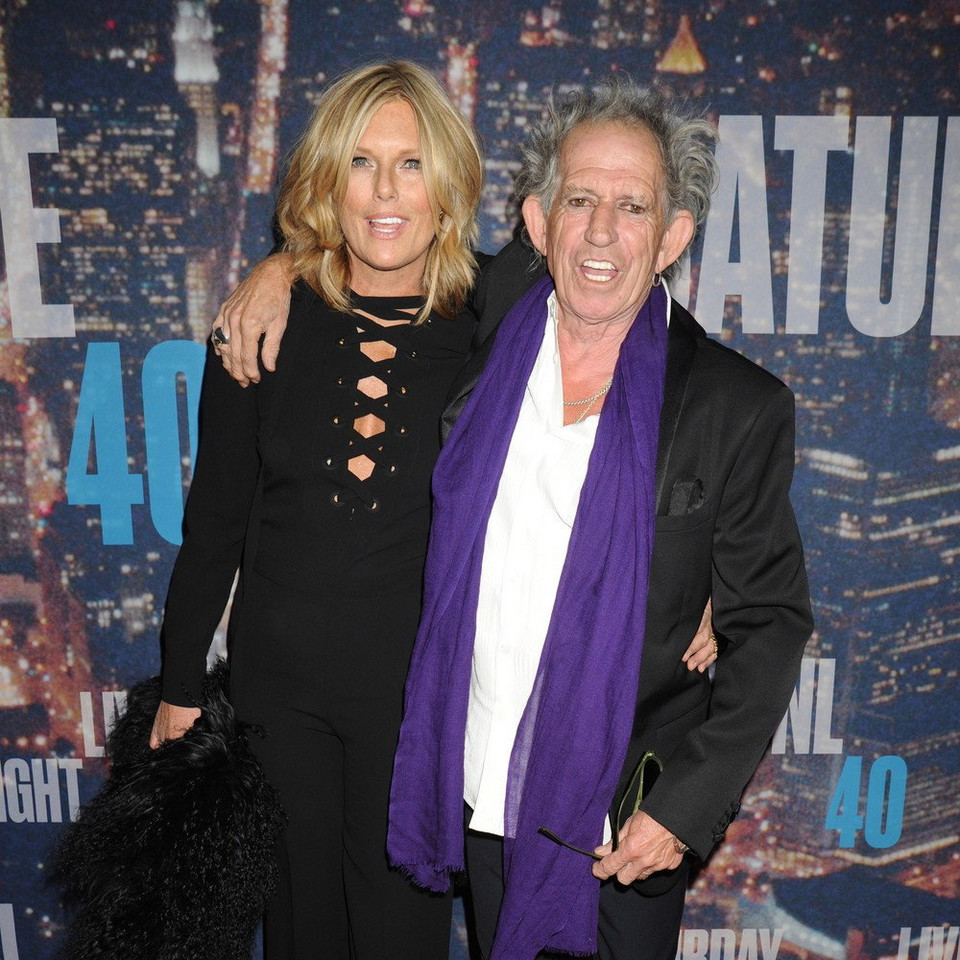 Keith Richards, Patti Hansen