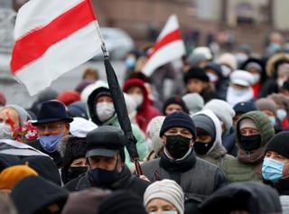 Białoruś: Ponad 300 zatrzymanych podczas niedzielnych protestów