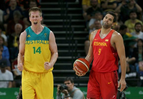 Košarkaška reprezentacija Australije, Košarkaška reprezentacija Španije