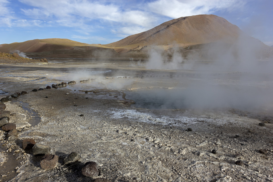 Gejzery El Tatio w Chile