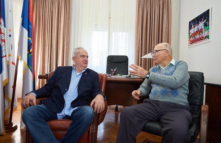 Božidar Maljković i Šaul Ladani