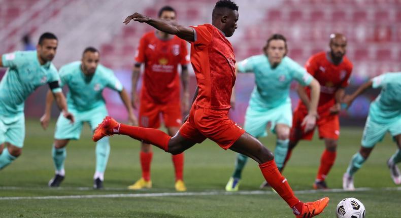 Michael Olunga Ogada in Action (Courtesy)