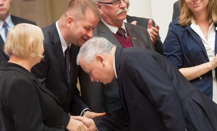 Jarosław Kaczyński, prezes PiS i były premier