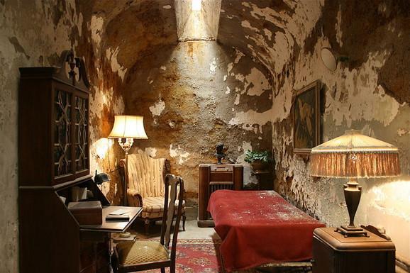 Al Kaponeova ćelija u zatvoru