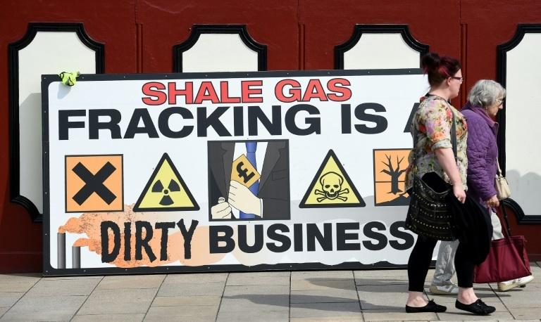 Public opposition to fracking in Britain is on the rise