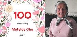 Pani Matylda świętowała 100. urodziny! Zdradziła swoją receptę na długowieczność