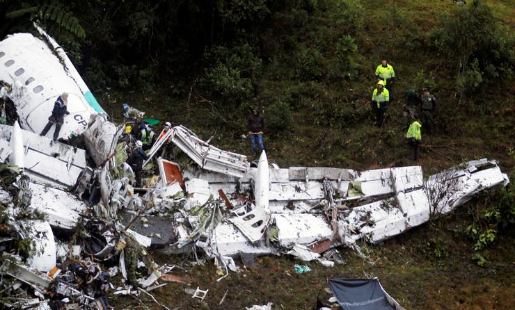 avion kolumbija