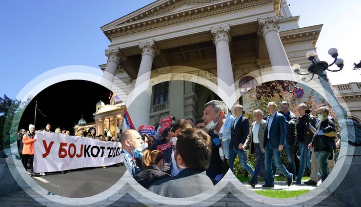 skupstina kombo foto Tanjug Rade Prelic, Tanjug Dragan Kujundzic, Tanjug Marija Petrovic, Snezana Krstic