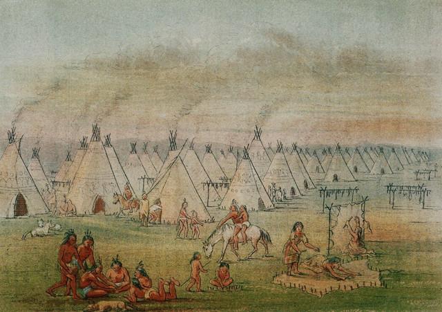 Ako su i podizali logore, to su radili tako da američka konjica nije mogla da pronađe nikakav trag o njima
