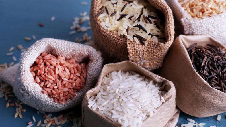 Ryż. Worki z ryżem