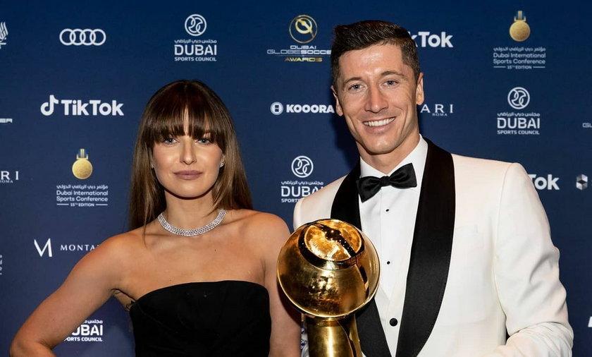 Lewandowscy na gali w Dubaju. Ekspert: Przyćmili Cristiano Ronaldo, którego partnerka wyglądała tanio i pospolicie