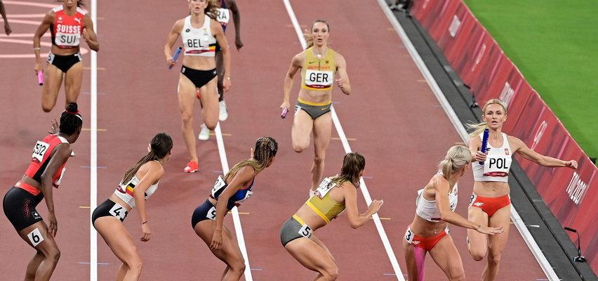 Znakomity bieg sztafety 4x400 metrów. Polki w sobotępowalczą o złoto!