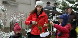Marta Kaczyńska sama w święta