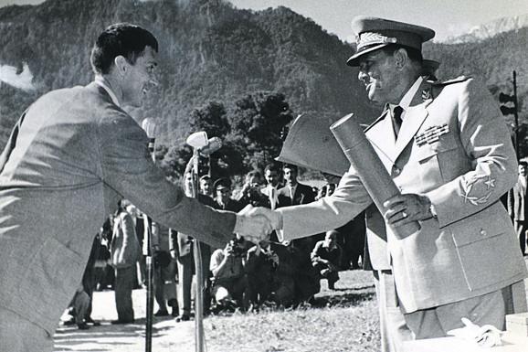 Slobodan Penezić Krcun i Josip Broz Tito