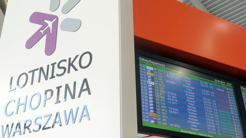 Lotnisko Chopina to największy port lotniczy w kraju. Obsługuje około 38 proc. całego ruchu pasażerskiego w Polsce