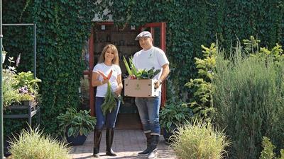 Rolnik z internetu zbiera obfite plony