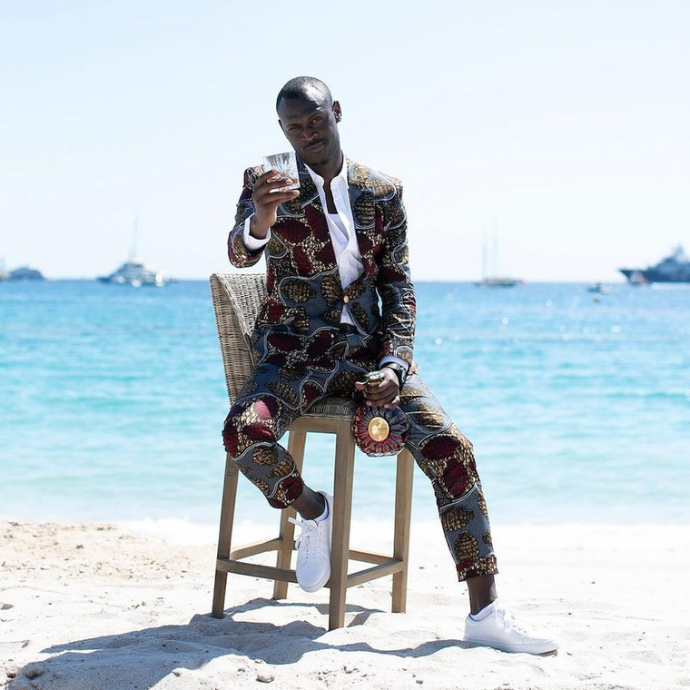 King Kaka at the Cannes Film Festival