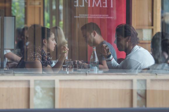 Rafael Nadal i Marija