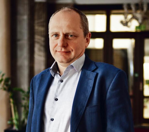 Jarosław Neneman, wiceminister finansów.