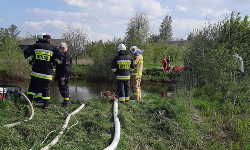 W Krześlinie k. Siedlec doszło do tragicznego wypadku.
