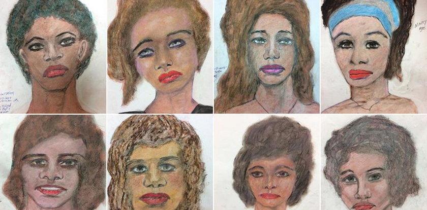 Te portrety skrywają mroczną opowieść. 90 ofiar, dziesiątki lat milczenia