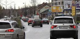 Kraków stoi w korkach