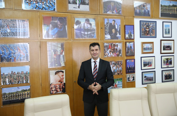 Resorni ministar Zoran Đorđević
