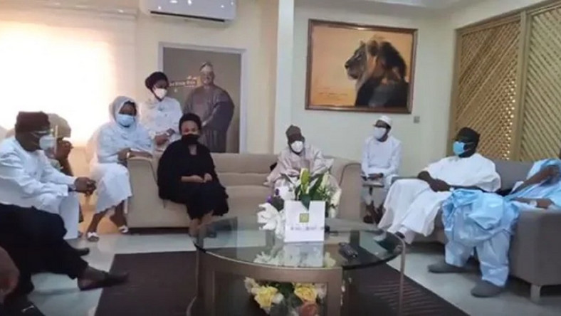 Ajimobi's family say they had no plan to bar Oyo deputy governor from attending ex-governor's fidau prayer. (Information Nigeria)