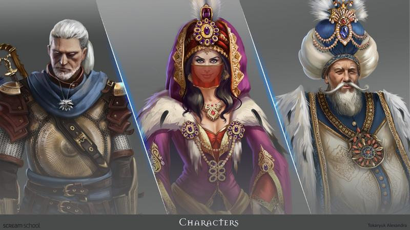 Witcher 3: The Sands of Ofir - Alexandra Tokaryuk