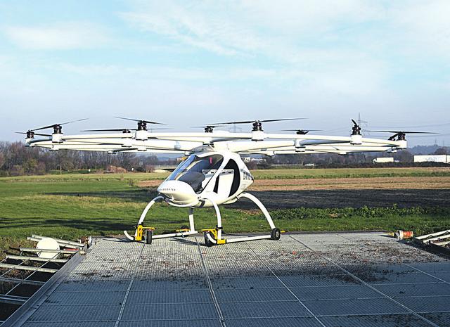Volocopter je dovoljno veliki da preveze jednu osobu