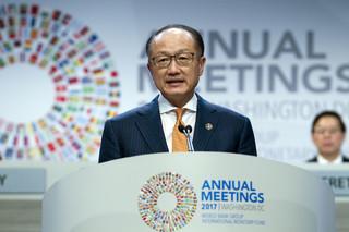 Kuluarowe spotkanie Morawieckiego z prezesem Banku Światowego
