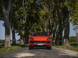 Porsche Cayenne Coupe Turbo – pastylka na apetyt