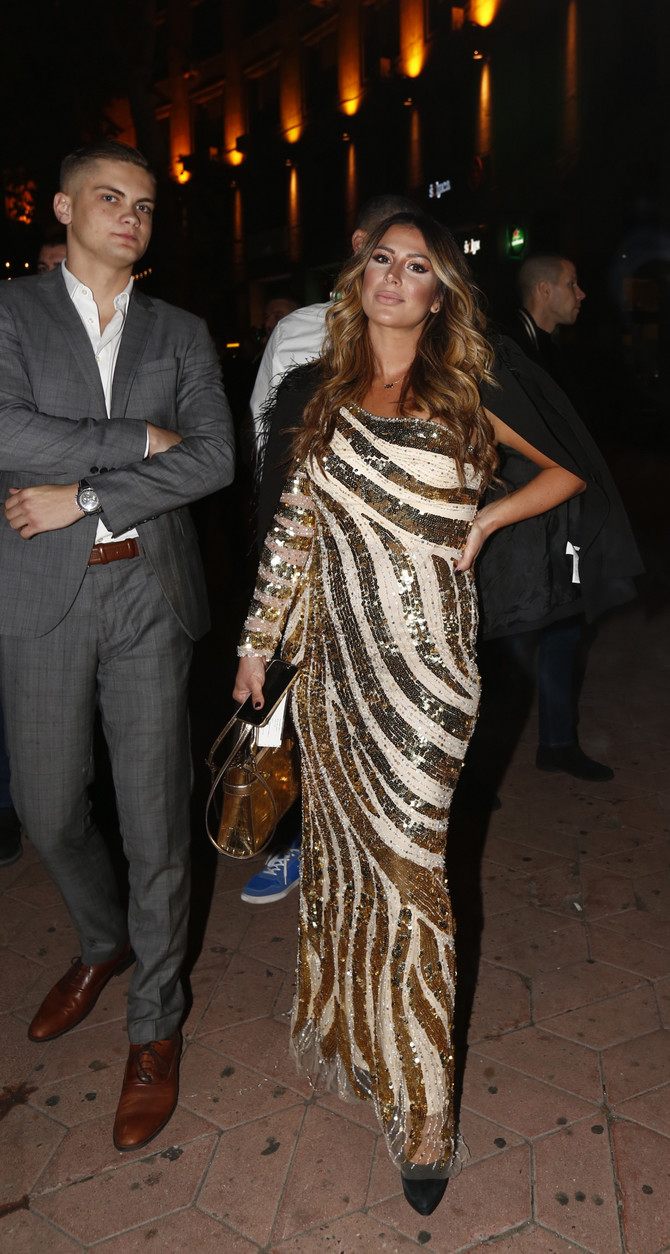 Ena Popov na izboru za mis Srbije
