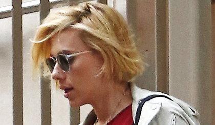 Ciężarna Scarlett z nową fryzurą