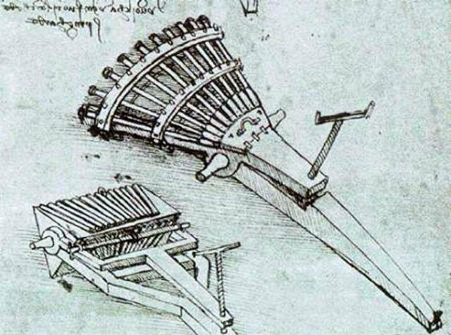 Renesansni mitraljez