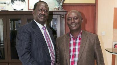 I met Raila Odinga a day before he checked into hospital – William Kabogo