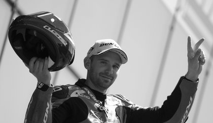 Tragiczna śmierć motocyklowego mistrza świata