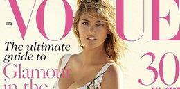 """Roznegliżowana Kate Upton na okładce """"Vogue'a"""""""